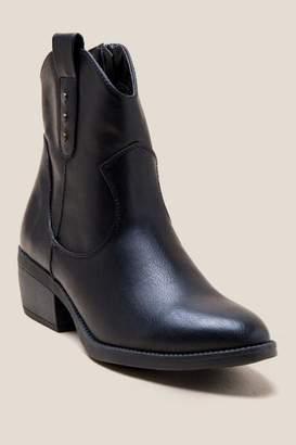 Rampage Thriller Basic Western Low Shaft Boot - Black