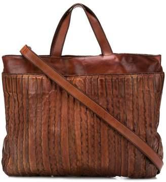Numero 10 textured shoulder bag