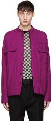 Haider Ackermann Pink Wool Double Pocket Jacket