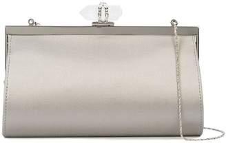 Marchesa embellished clasp clutch bag