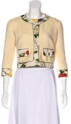 Dolce & Gabbana Lightweight Cropped Blazer
