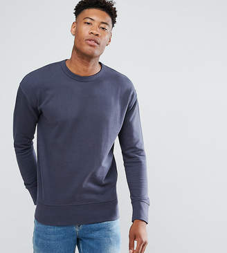 Selected Sweatshirt With Drop Shoulder Detail