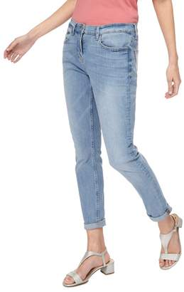 Casual Club The Collection - Light Blue Girlfriend Fit Mid Wash Jeans