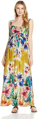 Jules & Jim JULES&JIM Women's Maternity Maxi Dress with Buttons
