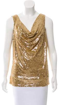 MICHAEL Michael Kors Sequined Sleeveless Top