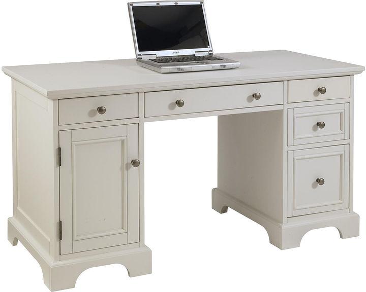 Home Styles Walton Bay Pedestal Desk