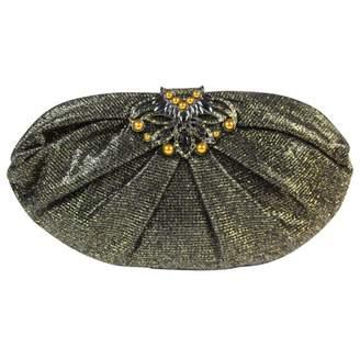 Judith Leiber Tweed Clutch Bag