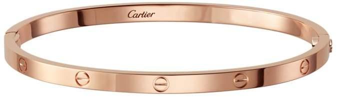 Small Pink Gold Love Bracelet
