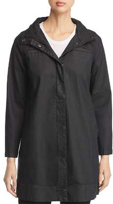 Eileen Fisher Coated A-Line Jacket