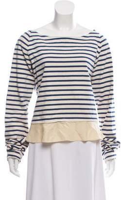 Rochas Striped Knit Top