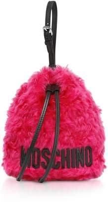 Moschino Mohair Bucket Bag