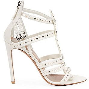 Alaia Women's Studded Leather Cage Sandals