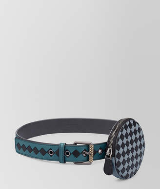 Bottega Veneta BELT IN INTRECCIATO CHECKER