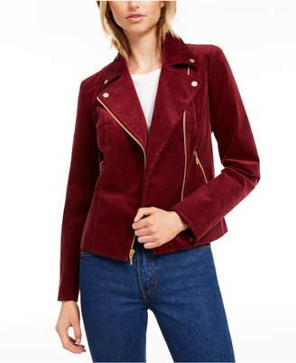 Maison Jules Corduroy Moto Jacket