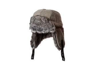Obermeyer Trapper Knit Hat w/ Faux Fur