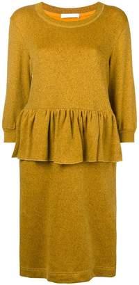 Peter Jensen peplum style dress