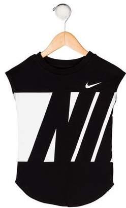 Nike Boys' Printed Sleeveless Shirt