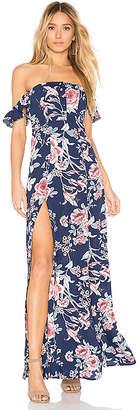 Flynn Skye Bardot Maxi Dress