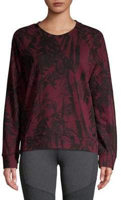 Andrew Marc Performance Bamboo Printed Pullover