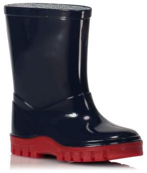 George Navy Wellington Boots