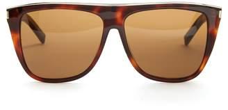 Combi Flat-top acetate sunglasses