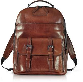 The Bridge Byron Brown Leather Men's Backpack