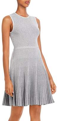 Theory Ribbed Fit and Flare Dress