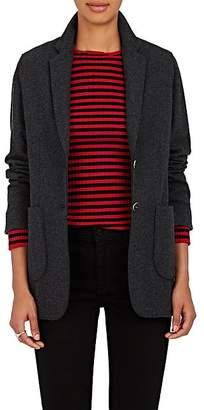 Xo Barneys Colombo Women's Cashmere-Silk Two-Button Blazer - Charcoal