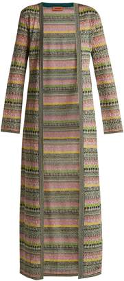 Missoni Striped metallic cardigan