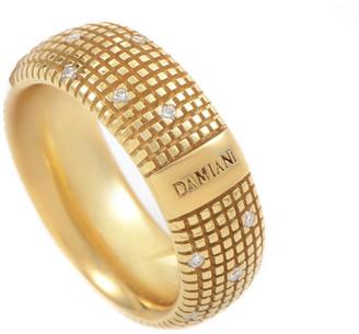 Damiani 18K 0.14 Ct. Tw. Diamond Ring