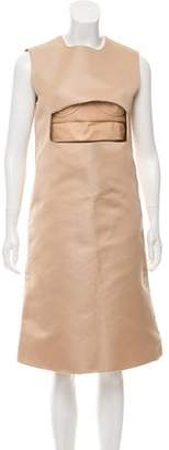 Esteban Cortazar Two-Piece Midi Dress