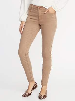 Old Navy Mid-Rise Sateen Rockstar Jeans for Women