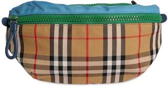Burberry Check Cotton & Nylon Belt Pack