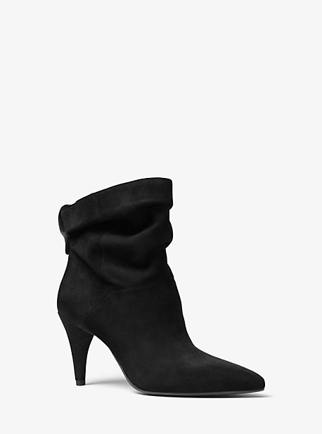 Michael Kors Carey Suede Ankle Boot