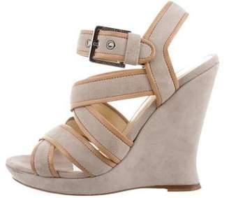 Alexandre Birman Multistrap Wedge Sandals
