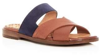 Chie Mihara Women's Wanda Leather & Suede Crisscross Slide Sandals - 100% Exclusive