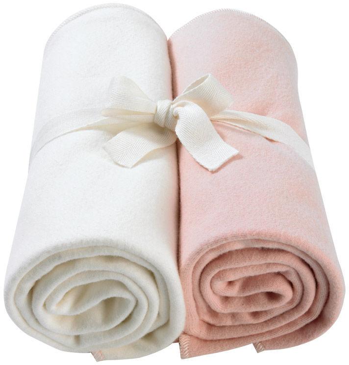 Giggle Better Basics Swaddle Blankets - Set of 2 (Organic Cotton)