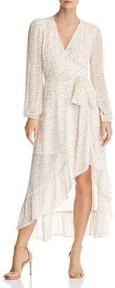 WAYF Messina Floral Wrap Dress - 100% Exclusive