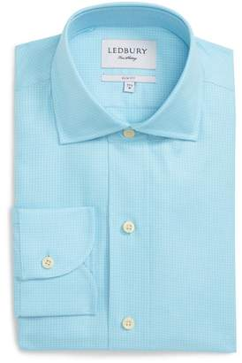 Ledbury Innis Slim Fit Check Dress Shirt