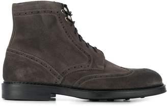 Doucal's brogue boots