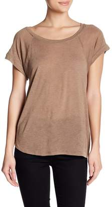 Tart Metallic Scoop Neck Tee
