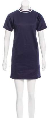 MAISON KITSUNÉ Crew Neck Mini Dress w/ Tags