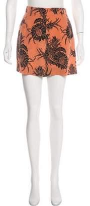 Prada High-Rise Short Shorts