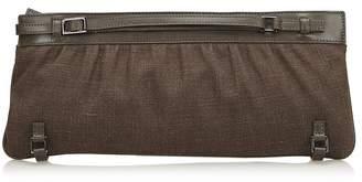 Gucci Vintage Hemp Clutch Bag