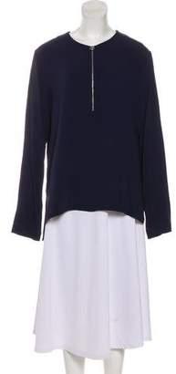 Stella McCartney Long Sleeve Zip-Up Tunic