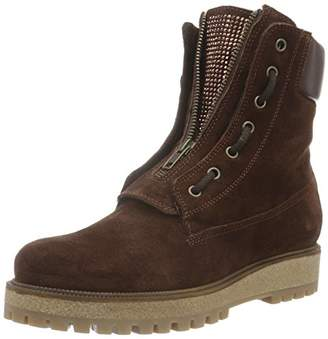 Manas Design Women's SESTRIERE High-Top Sneakers Brown Size: 5