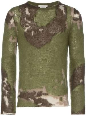 1017 Alyx 9SM Briar Camouflage Mohair Jumper