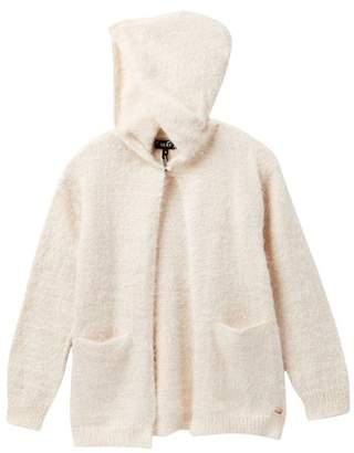 DKNY Fuzzy Cozy Sweater (Big Girls)