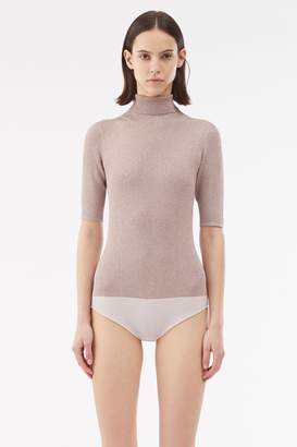 3.1 Phillip Lim Ribbed Metallic Body Suit