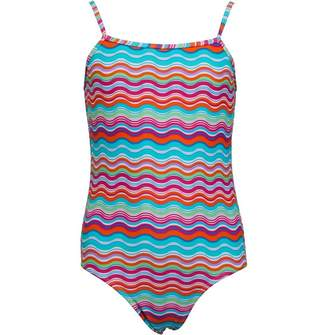 Board Angels Girls Printed Swimsuit Multi